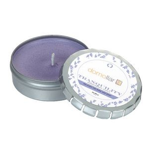 Essential Oil Infused Candle in Large Push Tin